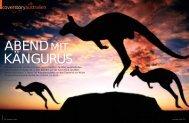 Coverstory Australien Reisemagazin - Medienwerkstatt Anita Ericson