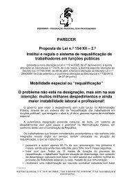 Parecer da FENPROF Proposta de Lei n.º 154/XII