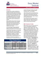 Dairy Product Prices - US Dairy Export Council