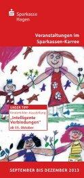 September bis Dezember 2013 PDF - Sparkasse Hagen