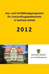 Aus- und Fortbildungsprogramm