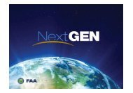 FAA NextGen: Happening Now for Business Aviation - NBAA