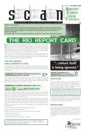 Issue 16 - November 2004 (pdf, 750K) - Sierra Club Canada