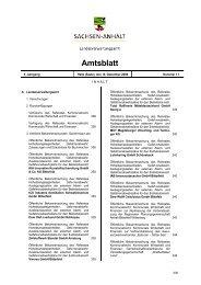 Amtsblatt Nr. 18/2008 - Sachsen-Anhalt