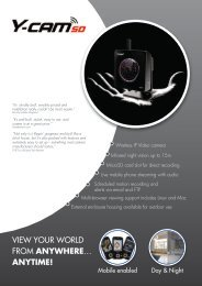 VIEW YOUR WORLD FROM ANYWHERE… ANYTIME! - Use-IP