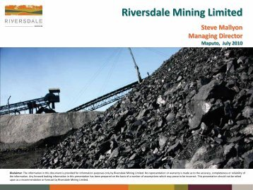 Riversdale third project is huge 1 - Mark Latham Commodity Equity ...
