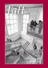 Student Handbook - The Taft School