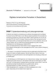 Digitales terrestrisches Fernsehen in Deutschland - pr4u-net.de