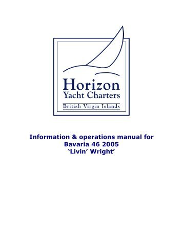 bavaria 39 operations manual horizon yacht charters rh yumpu com bavaria 37 owner's manual owner's manual bavaria 36