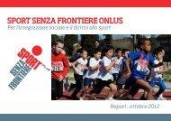 SPORT SENZA FRONTIERE ONLUS - Anima