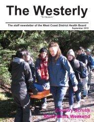 Country Scrubs Rural Skills Weekend - West Coast District Health ...