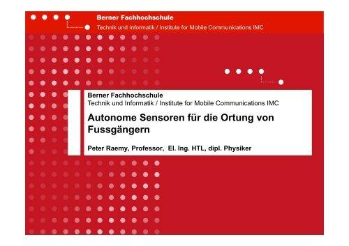 GPS-Reflexionen - Swiss Institute Of Navigation :: ION-CH