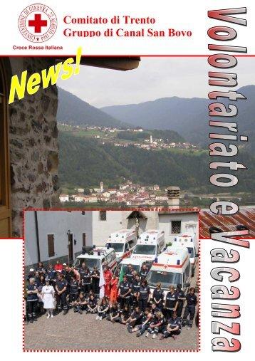 volontariato e vacanza csb - CRI Trentino