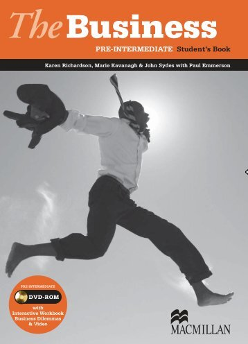 PRE-INTERMEDIATE Student's Book