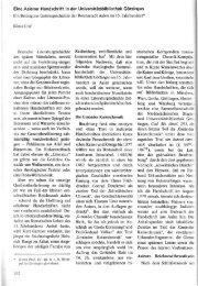 Eine Aalener Handschrift in der Universitätsbibliothek ... - FreiDok