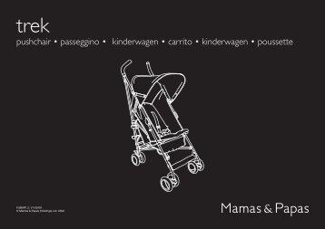 pushchair • passeggino • kinderwagen • carrito ... - Mamas & Papas