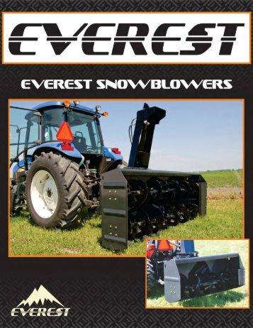 everest snowblowers
