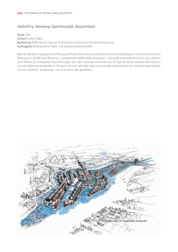 HafenCity, Hamburg-Speicherstadt, Deutschland - Von Gerkan ...