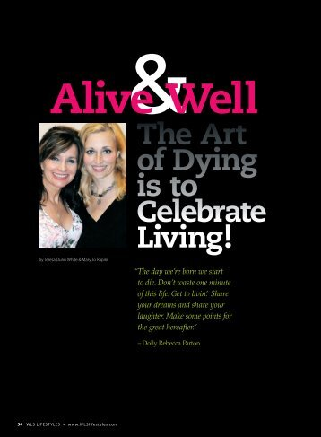 54-57 dunn_FALL2010.indd - WLS Lifestyles Magazine