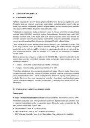"""Územní studie """"Rozvoj kombinované dopravy a ... - Zlínský kraj"""