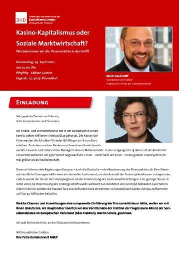 Kasino-Kapitalismus oder Soziale Marktwirtschaft ... - Attac Düsseldorf