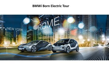 BMW.i Born Electric Tour