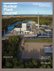 New Energy - Digital Versions - Nuclear Plant Journal