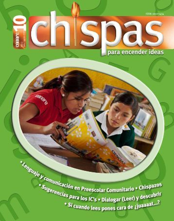 Revista: Chispas No.10 - Conafe