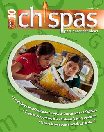 Revista: Chispas No.10 - Conafe
