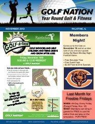November 2012 - Golf Nation