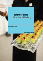 Untitled - Whitechapel Gallery