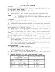 General Instructions for ECHS - Indian Airforce
