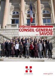 guide elus.qxd - Conseil Général de Savoie