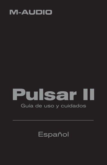 Guía de uso y cuidados del micrófono Pulsar II - M-Audio