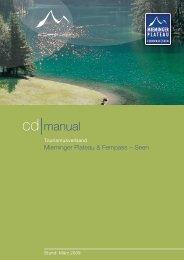 cd manual - Mieminger Plateau