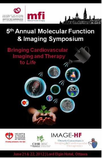 2012 MFI Symposium Program - University of Ottawa Heart Institute