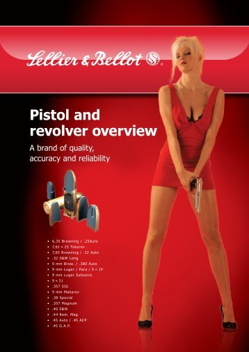 Pistol and revolver overview - Sellier & Bellot