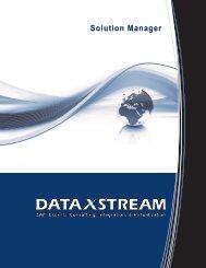 Solution Manager - DataXstream