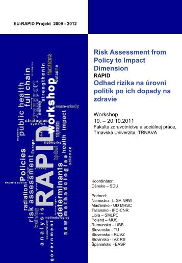 strengthening methodology for policy risk assessment Workshop 07 ...