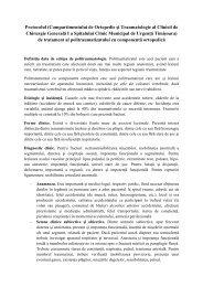 Protocolul politraumatizatului - Spitalul Clinic Municipal de Urgenta ...