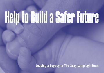 Help to Build a Safer Future - Suzy Lamplugh Trust