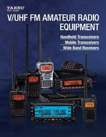 V/UHF FM] AMATEUR RADIO ' EQUIPMENT - Yaesu