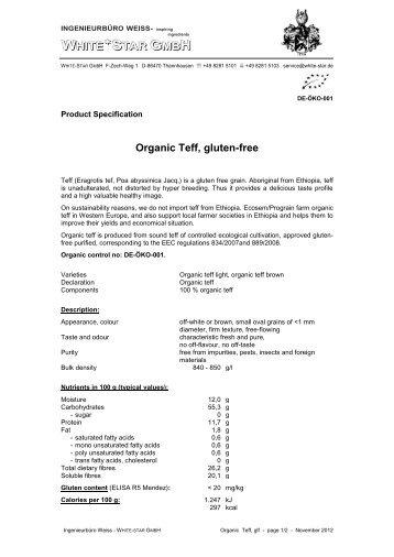 teff seeds (pdf) - White-star.de