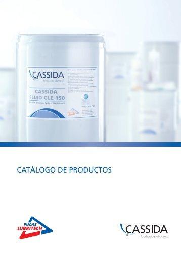 CATÁLOGO DE PRODUCTOS - cassida
