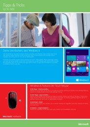 Tipps & Tricks - Microsoft® ExpertZone