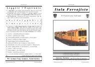 Itala Fervojisto - Federazione Esperantista Italiana