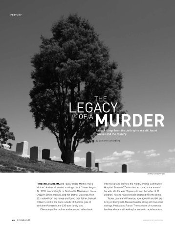 The Legacy of a Murder - Hungry Blues