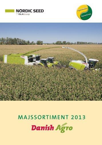 Danish Agros majssortiment 2012-13