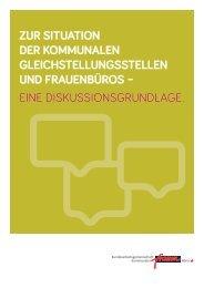 Situation kommunaler Gleichstellungsstellen und ... - Stadt Wuppertal
