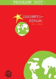 PROGRAMM 2007 - Was ist das Zukunfts-Diplom für Kinder?